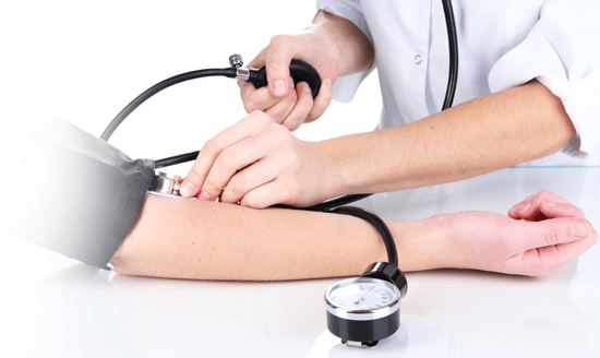 Manage hypertension and blood pressure online