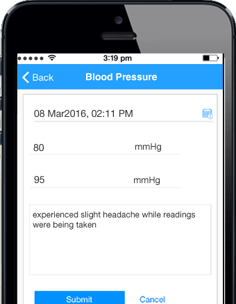 Online doctor consultations and care for high blood pressure